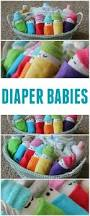 how to make diaper babies easy baby shower gift idea frugal