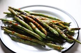 grilled green beans with harissa country cleaver