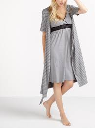 robe de chambre maternité robe de chambre de maternité à manches courtes thyme maternité