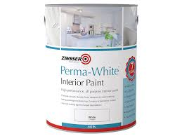 zinsser zinpwes25l 2 5 litre perma white interior matt paint