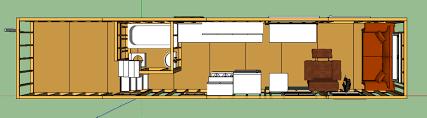 Coastal Cottage Floor Plans Tiny House Plans On Trailer Home Designs Ideas Online Zhjan Us