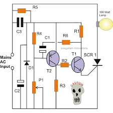 how to make simple scr circuits