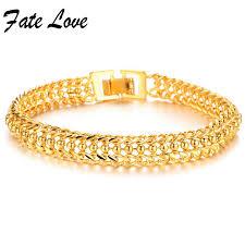 classic link bracelet images Fate love classic vintage never fade gold color women bracelets jpg