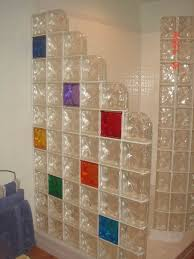bathroom glass block shower design ideas glass block shower