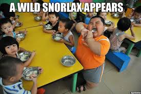 Fat Asian Baby Meme - a wild snorlax appears weknowmemes