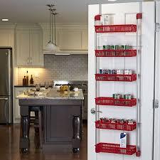 Over The Cabinet Door Basket by Amazon Com Household Essentials 6 Tier Basket Over The Door