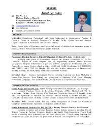 pest control resume resume anant yadav comprehensive admin