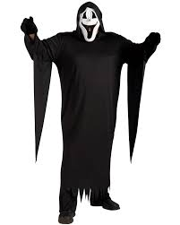 cl2 howling ghost face scary halloween fancy dress mens costume