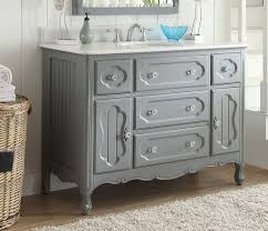 Cottage Style Vanity 48 Benton Collection Cottage Style Knoxville Bathroom