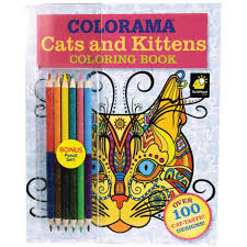 tv colorama cats u0026 kittens coloring book
