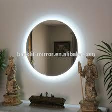 bathroom mirror with lights behind backlit bathroom mirror led lighting behind buy bathroom mirror
