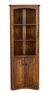 Low Corner Bookcase Bookcase Captivating Corner Bookcase With Doors Corner Bookcase