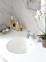 solid surface bathroom sinks corian integrated sink white solid surface bathroom vanity with