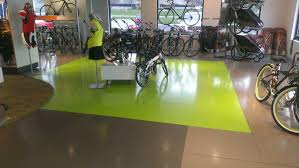 epoxy flooring concrete repair and stain showroom floors