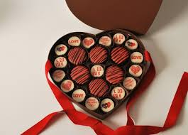 decorations heart shaped chocolate idea for valentines day gift