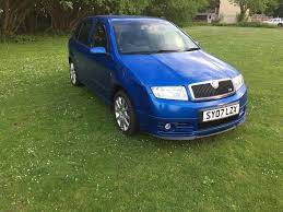 skoda fabia vrs 1 9 tdi pd facelift 130 special edition in