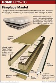 Wood Shelf Plans For A Wall by Best 25 Building A Mantle Ideas On Pinterest Brick Fireplace