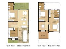 Row House Floor Plans Row House Plans Arun Excello Temple Green Proptalkies Kaf Mobile
