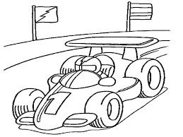 race car coloring boys coloring pages