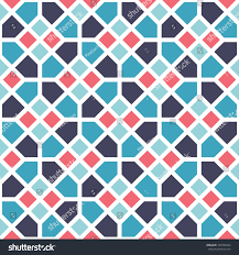 moroccan tile moroccan tile pattern background editable vector stock vector