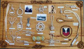 personnel fancy rope work