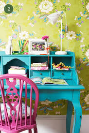Lime Green And Turquoise Bedroom Eye Candy Offices And Workspaces By Style Curbly