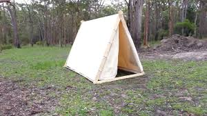 viking a frame tent youtube