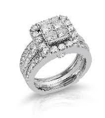 daimond ring 14k white gold diamond ring