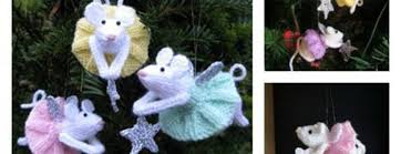 knitting furry fairies christmas ornament pattern free beesdiy com