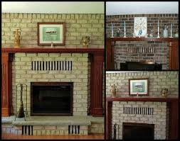 Living Room Design Brick Fireplace Stunning Neutral Brick Fireplace Ideas With Marvelous Wooden