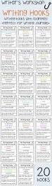 hook in essay sample 32 best writing hooks images on pinterest teaching writing 20 writing hooks to support your writers