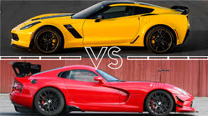 corvette vs viper chevrolet corvette z06 c7 vs dodge viper 2017 acceleration 0