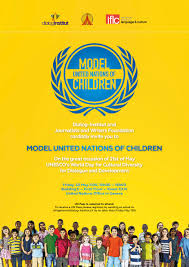 model united nations of children 2016 the journalists and