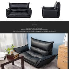 Foldable Sofa Sofas Center Foldable Sofa Chair Amazon Com Merax Adjustable Pu