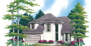 house plans sloping lot mascord house plan 2244bd the bromley