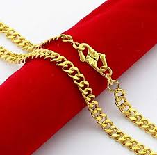 new arrival fashion 24k gp gold plated mens women new arrival fashion 24k gp gold plated necklace mens women