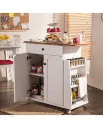 oak kitchen island cart amazing deal on copper grove argyll traditional white wood kitchen