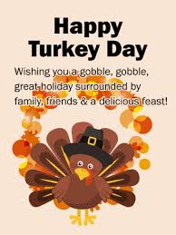 turkey happy thanksgiving card birthday greeting cards by