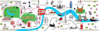 tourist map of london new zone
