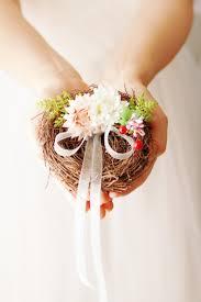 ring bearer pillow rustic wedding pillow alternative ring pillow