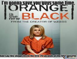 Orange Is The New Black Meme - orange is the new black a netfilx original series by garrett1999o3