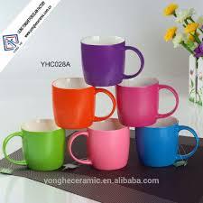 Ceramic Coffee Mugs Nenon Bright Color Glazed Ceramic Coffee Mugs Buy Ceramic Coffee