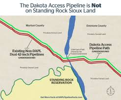 Illinois On A Map by Dakota Access Pipeline Facts