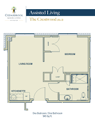 rochester mi senior living floor plans