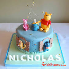 sweetthings winnie the pooh cake all about sugar art