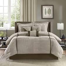 California King Comforter Sets On Sale Amazon Com Madison Park Dallas 7 Piece Comforter Set King Tan