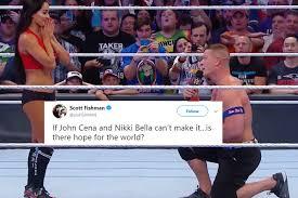 John Cena Meme - john cena posts meme after his break up with nikki bella twitterati