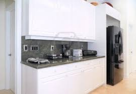 countertops custom white kitchen cabinets standard refrigerator