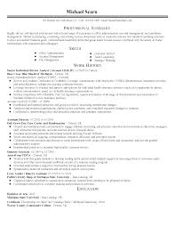 Resume Sample Experienced Professional by Sample Resume For Experienced Mainframe Developer Free Resume