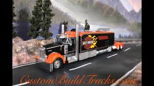 kenworth custom parts custom model kenworth with condo sleeper harley davidson